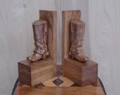Western Wood Carved Cowbo...