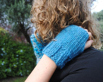 Chunky wool woman Mittens 4 COLOURS AVAILABLE