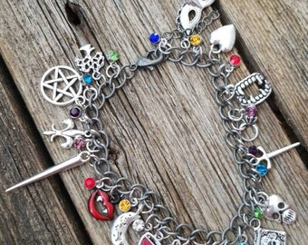 The Originals inspired charm bracelet
