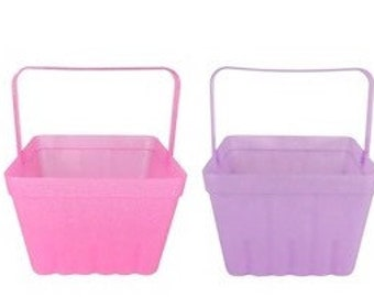 Custom Plastic Berry Basket