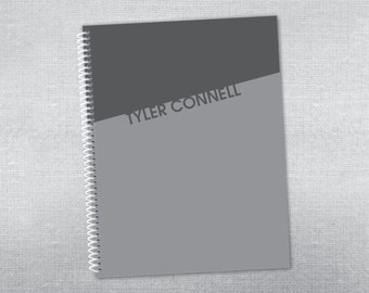 Personalized notebook. Spiral notebook.