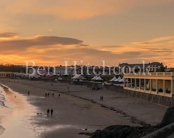 Barry Island, Sunset