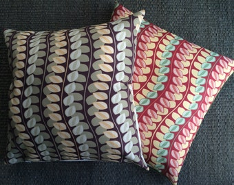 Neutral Floor Pillow Cover, 26x26 Botanical Green and Yellow Decorative Pillow Cover