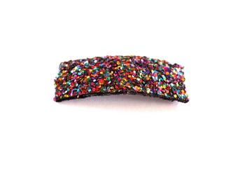 Candy Glitter SNAP Clip Bow for Baby Child Adult Red Black Blue Green Holiday Spring Summer Adorable Photo Prop Darling Sparkly Clip Bow
