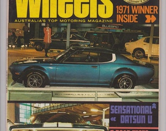 1972 Wheels Magazines Fathers Day Gift Husband Gift Idea Birthday Gift for Him Anniversary Gift for Man Boyfriend Gift Choose Your Month