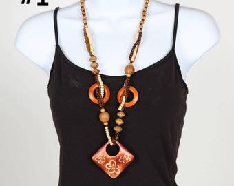 Handmade Designed African Necklace Six Options