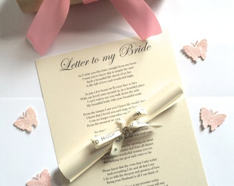wedding gift for groom from bride on wedding day personalised