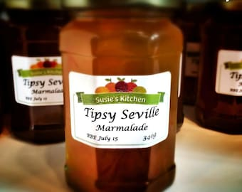 Tipsy Seville Marmalade 340g (12oz) - prize winning, home made preserve