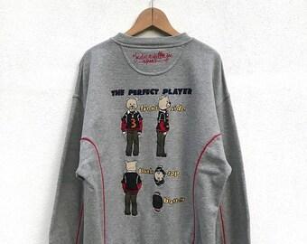 20% OFF Vintage Castlebajac Sport The Perfect Player Sweatshirt Mint Condition / Jean Carles de Castlebajac Sweater