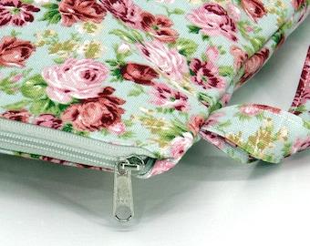SALE 20% OFF Flora Wet bag, Flora swim suit bag, Bikini bag, Diaper, wet Bathing suit bag, cosmetic bag, Travel bag, Gift