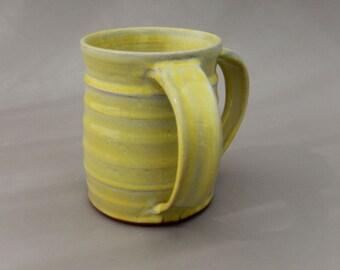 Ceramic Negel Vasser - Jewish Pottery Washing Cup - Handmade Clay Netelat Yadayim-  Gift