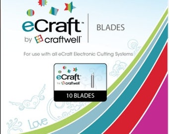 Craftwell EC-BLD-10P Replacement Blades (10 Pack)