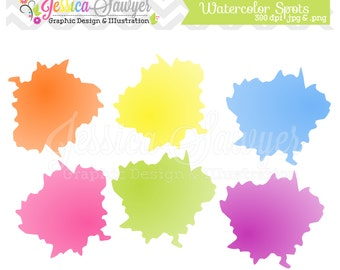 INSTANT DOWNLOAD,  art clip art, paint clipart, splatter brush for personal and commercial use, scrapbooking, invitations