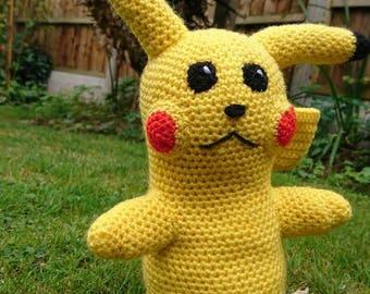 Pikachu Crochet Pattern Instant Download