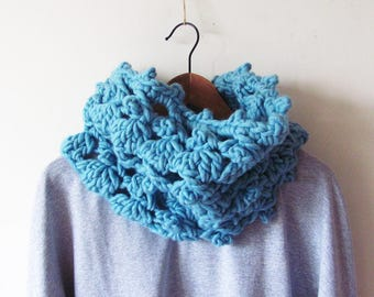 Souffle Cowl Crochet Pattern PDF