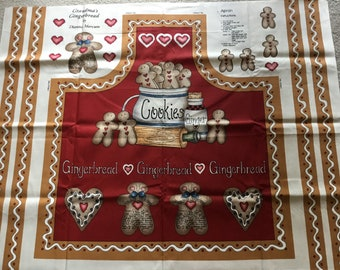 Gingerbread apron by Marcus Brothers Textiles