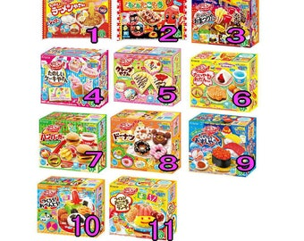 Wide variety of fun and yummy Japanese candy DIY kits from Kracie, Popin cookin