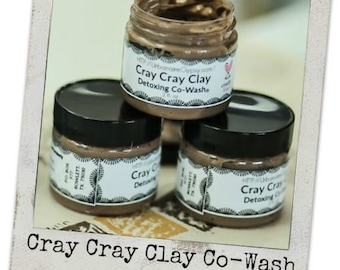 16 oz. Clay Shampoo...Conditions, Cleanses, Detangles and Detoxes (Cray Cray Clay Shampoo)