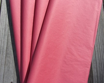 """Tissue Paper / 48 Sheets Coral Pink Tissue Paper 20""""x30""""/Coral Wedding/Coral Tissue Paper Sheets/Coral Shower"""