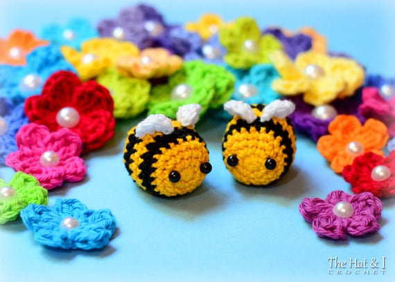 Crochet Pattern Busy Bees Crochet Bee Pattern Amigurumi