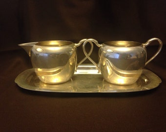 Vintage Wallace Silver Plate 3 Piece Set