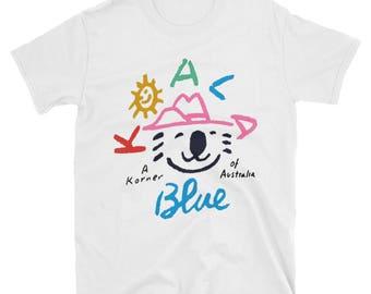 Olivia Newton-John Koala Blue T-shirt