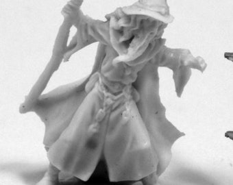 Reaper Miniatures - Lendil Blackroot, Wizard - 77412