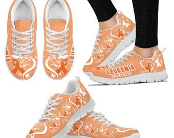 Leukemia Advocate/Leukemia Awareness/Leukemia Patient/Cancer of the Blood Sneakers - Gift For Leukemia Advocate / Patient