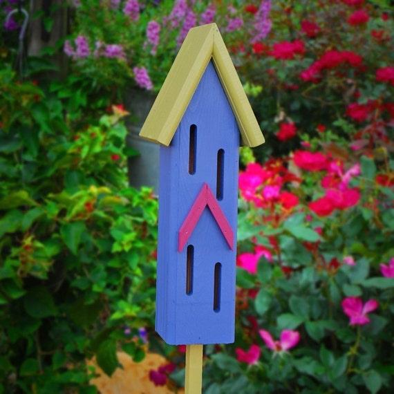 Nursery Handmade Ideas: Garden Decor Butterfly Houses Handmade Gifts Painted