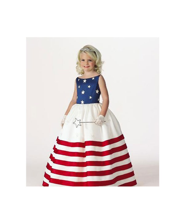 Pageant RWB Princess RWB Flag princess USA princess American