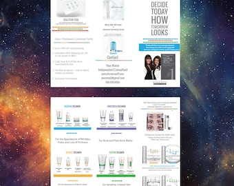 UPDATED With New Solution Tool | Rodan + Fields Brochure Design