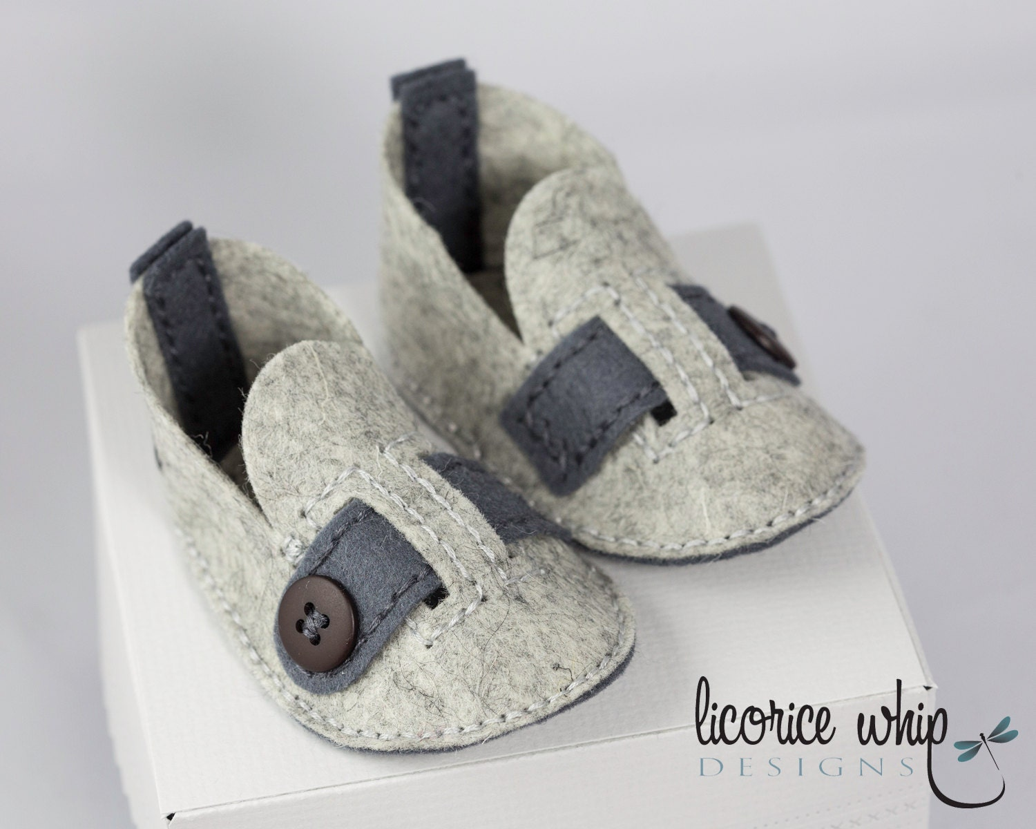 Gray baby boy shoes cute baby boy shoes wool felt soft crib shoes gray baby boy shoes cute baby boy shoes wool felt soft crib shoes gray heather unique baby gift baby gift box baby shower gift negle Choice Image