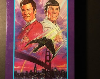 Star Trek IV The Voyage Home VHS