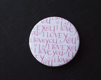 I Love You 2.25 inch Magnet