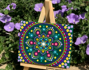Mini Mandala Canvas