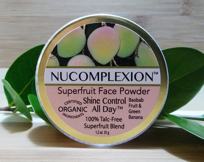 Superfruit (TM) Face Powder - Shine Control All Day - by NuComplexion Organic Beauty
