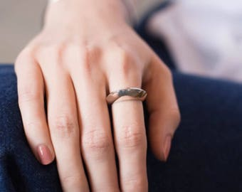 Unique signet ring, signet ring, christmas gifts 2018, statement ring, statement ring trend, wife bold jewelry, sculptural ring, everyday