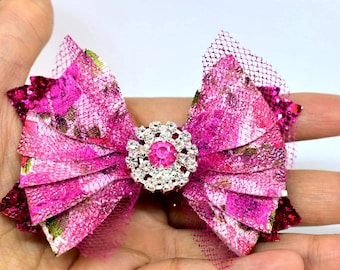 Mermaid Bows Magic pink