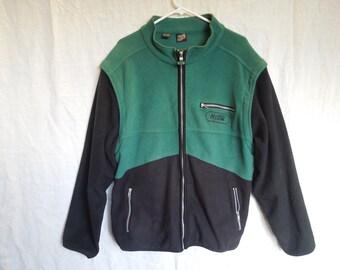 90s Mountain Dew Zip Up Fleece