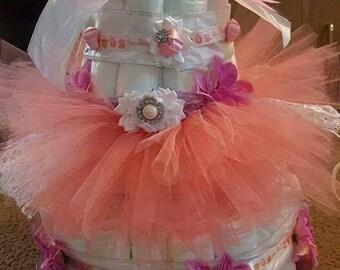 Tutu Cute diaper cake
