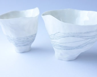illustrated lined porcelain vessel no.1