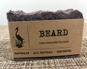 Beard Soap gift ideas beard care mens gift for him gift for men boyfriend gift homemade soap gift for husband gift for him Father's Day gift
