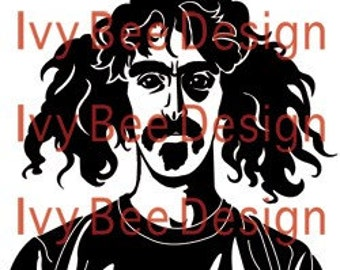 """Frank Zappa """"We're Only In It For The Money"""" Decal"""