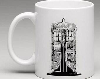 Personalised Unique Tardis 'Doctor Who' Mug!