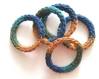 Cat and Ferret Toys, Recycled Rings Toy, Gift for Cats and Ferrets