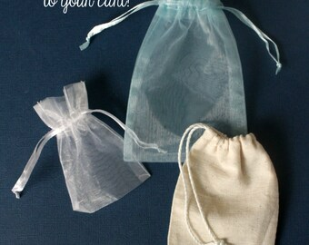 Add a gift bag - add on item - gift wrapping option