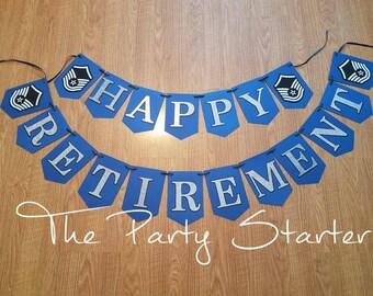Air Force Retirement Banner