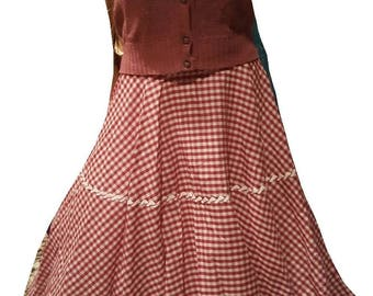 Adorable vintage A line skirt