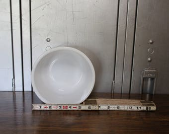 Small Milk Glass Mixing Bowl