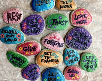 Affirmation and Intention Stones